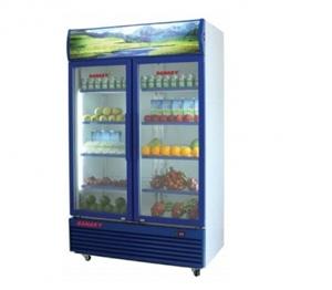 Tủ mát Sanaky hai cánh dàn lạnh đồng VH-1009HP
