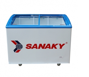 Tủ đông kính cong Sanaky VH-302K