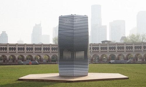 Nghiên cứu mới của các nhà khoa học Hà Lan chỉ ra chiếc máy lọc không khí khổng lồ cao 7 mét có thể giúp Trung Quốc giải quyết thảm họa ô nhiễm không khí.
