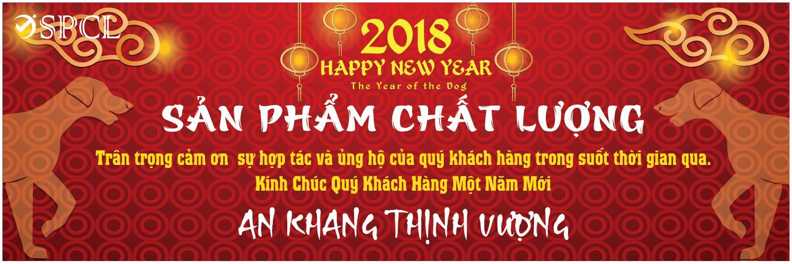 Sanphamchatluong.vn Chúc mừng năm mới 2018