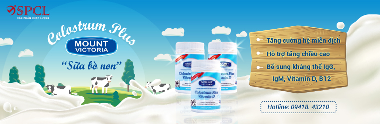 Sữa non colostrum plus - victoria