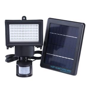 Đèn 100 led sử dụng năng lượng mặt trời