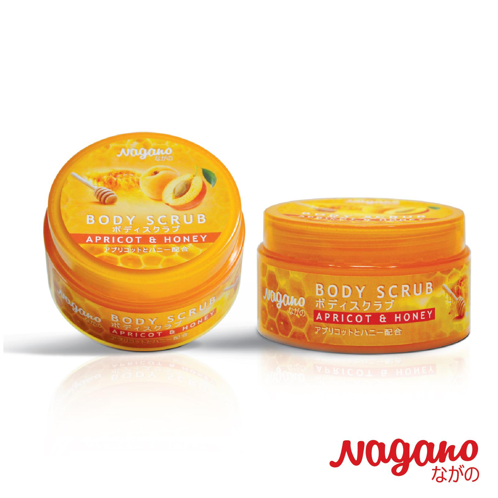 TẨY TẾ BÀO CHẾT MẬT ONG và TINH DẦU HẠT MƠ NAGANO - 100ml